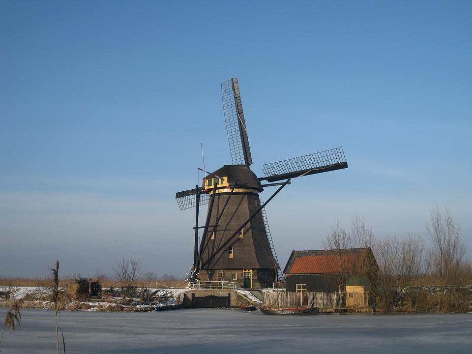 Kinderdijk, Holland, Molina