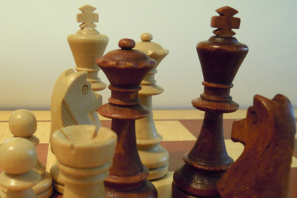 Chess, Chess Pieces, King, Lady, Chess Board