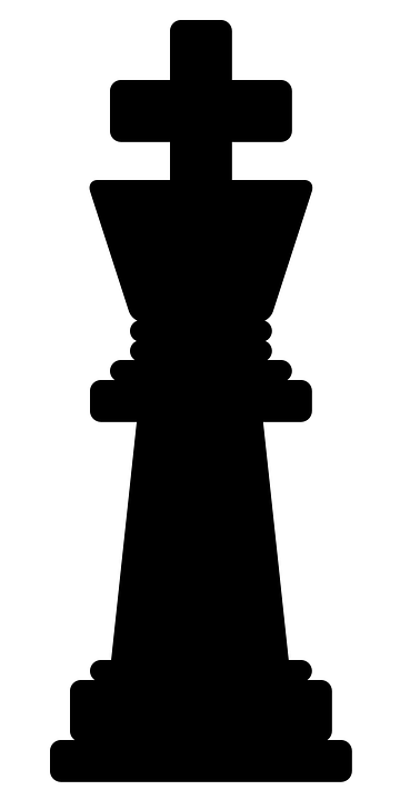 King, Chess, Black, Play, Piece, Figure