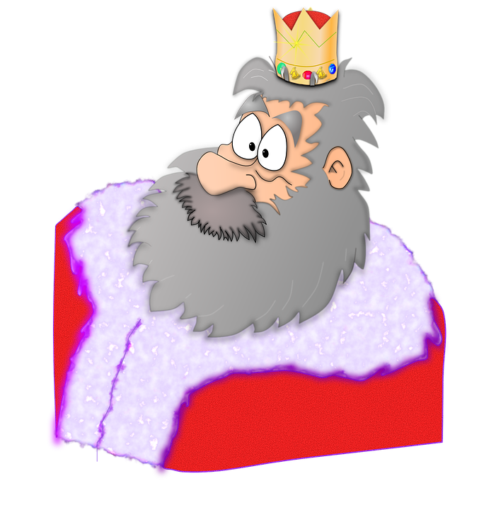 Crown, King, Santa, Bear
