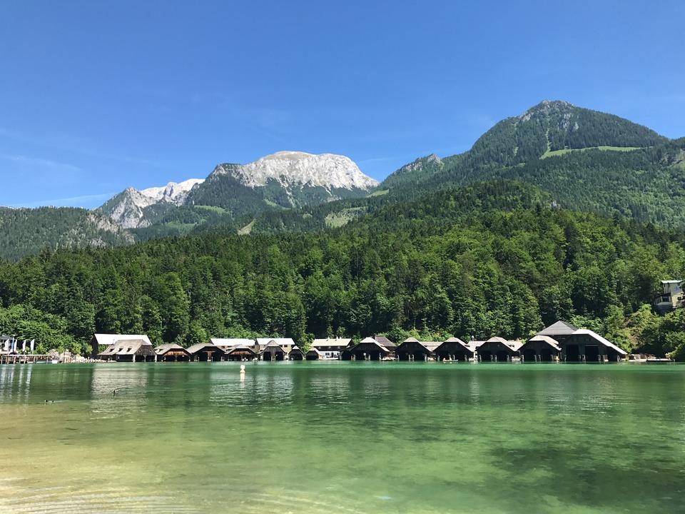 Lake, Mountains, View, Landscape, Mood, King Lake