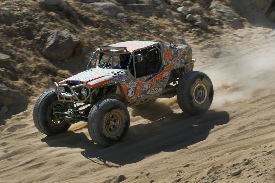 Car, Racing, King Of The Hammers, 4x4, Quadricycle
