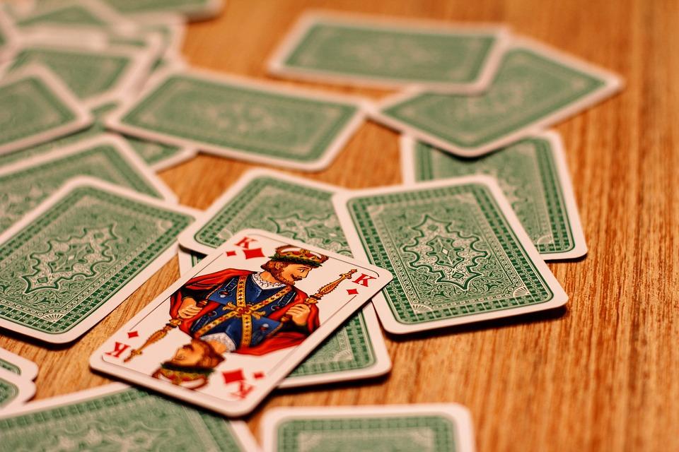 Card Game, King, Play, Playing Cards, Gambling