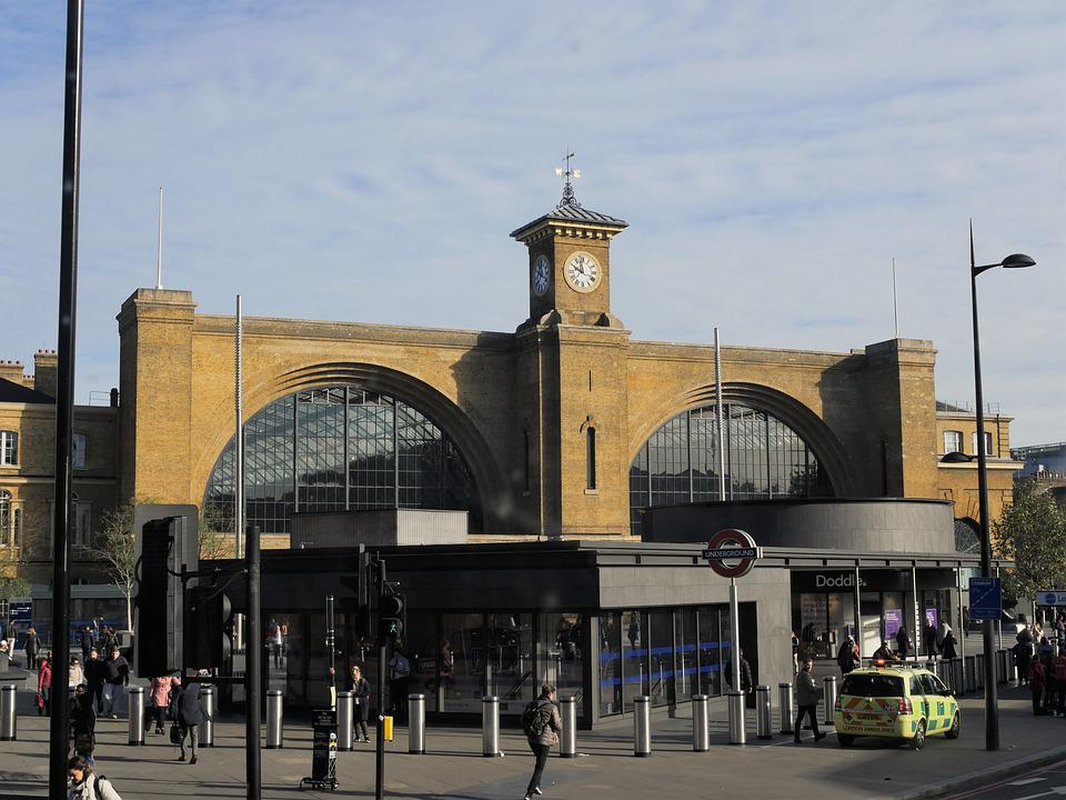 London, Kings Cross, Railway Station