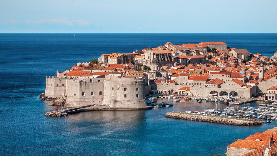 Dubrovnik, Croatia, Kings Landing, City, Town, Europe