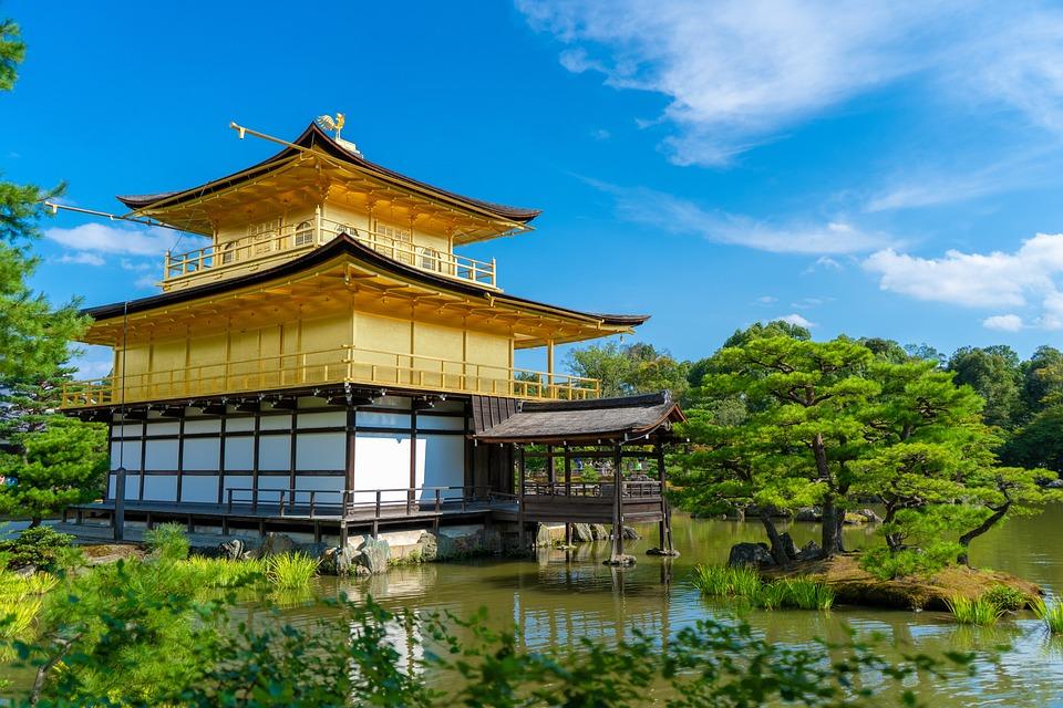 Kinkaku Ji, Kyoto, Japan, Tourism, Culture