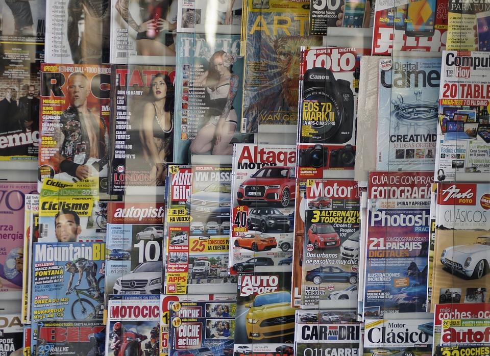Magazines, Kiosk, Press