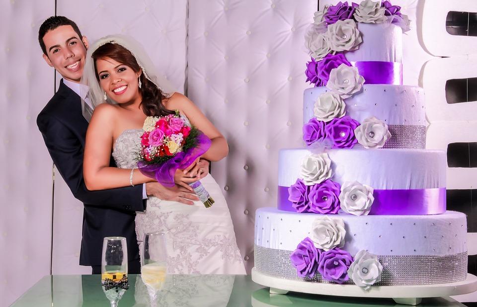 Wedding, Ceremony, Grooms, Married, Kiss, Wedding Veil