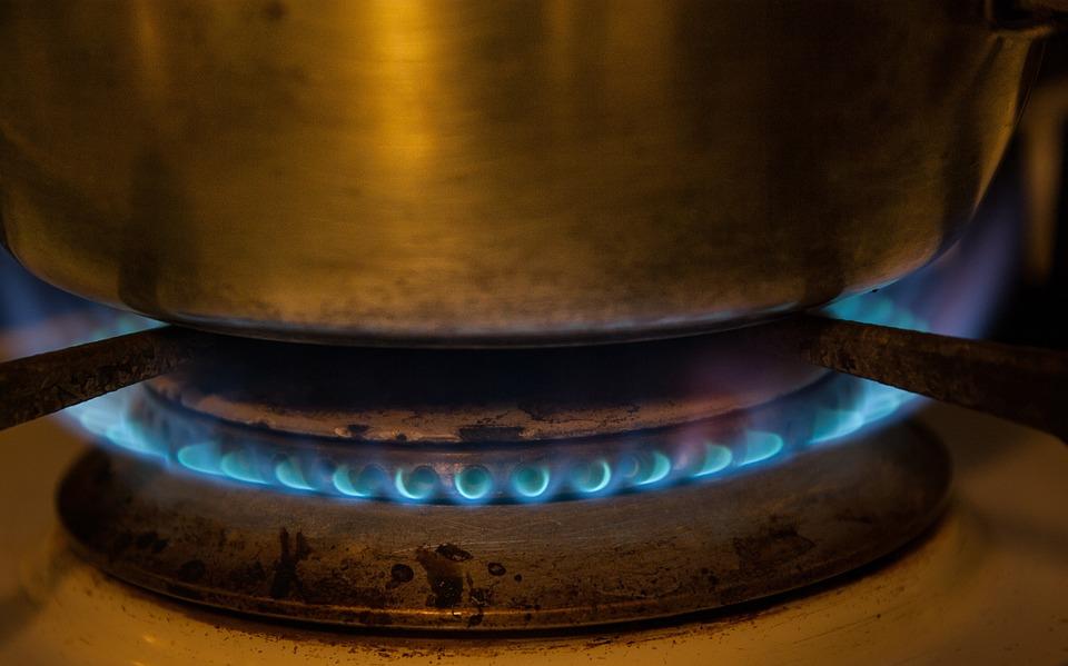 Kitchen, Gas, Flame, Burner, Fire