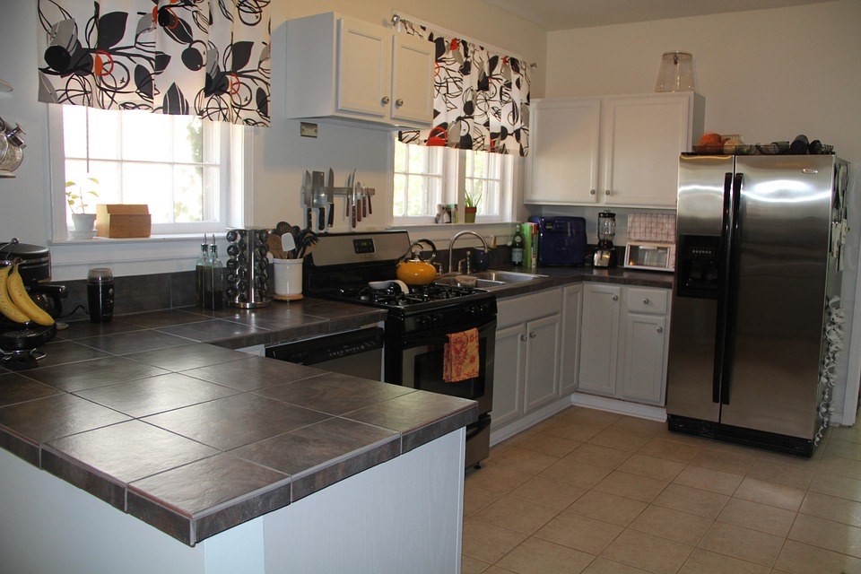 Kitchen, Open, Home, House, Interior, Design