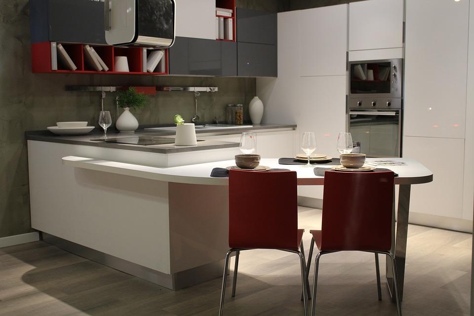 Kitchen, Furniture, Interior, Cook, House, Eat