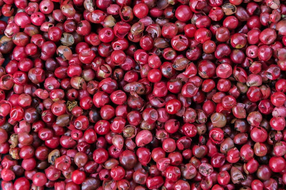 Pink Pepper, Spice, Kitchen, Red, Pepper, Red Bay