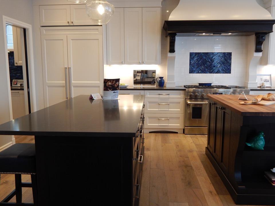 Kitchen, Room, House, Stove, Interior, Home, Decor