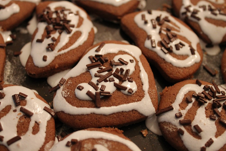 Gingerbread, Holidays, Kitchen, Sweets, Chocolate