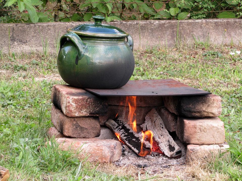 Tile, Kitchen Utensils, Firing, Fireplace, Outdoors