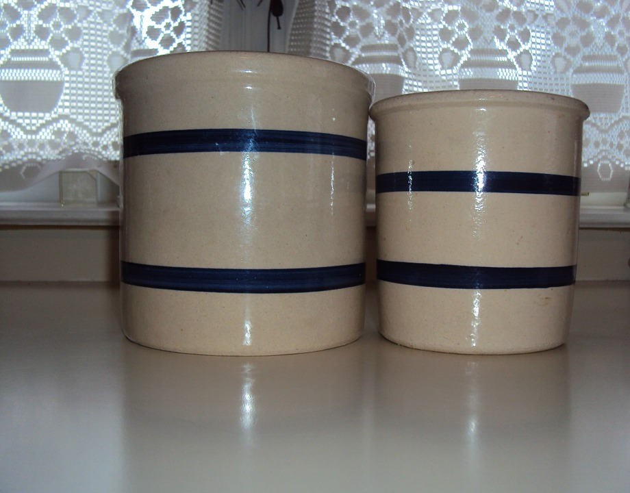 Ceramic, Containers, Food, Kitchenware