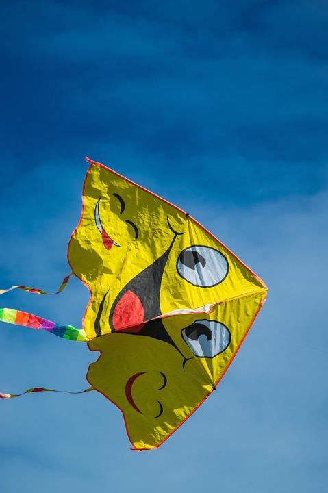 Kite, Childhood, Toy, Flying, Flight