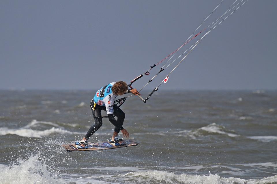Kite Surfing, St Peter, World Natural Heritage