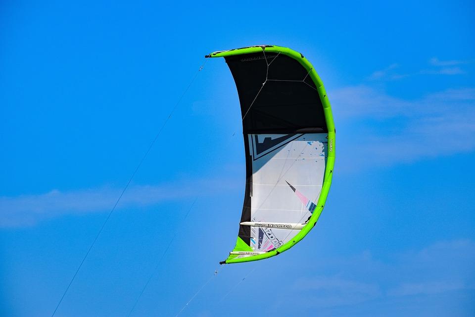 Kite, Kitesurfing, Sport, Extreme, Wind, Sky, Action