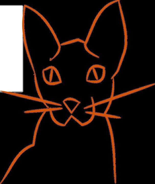 Cat, Logo, Pet, Animal, Silhouette, Kitty, Kitten