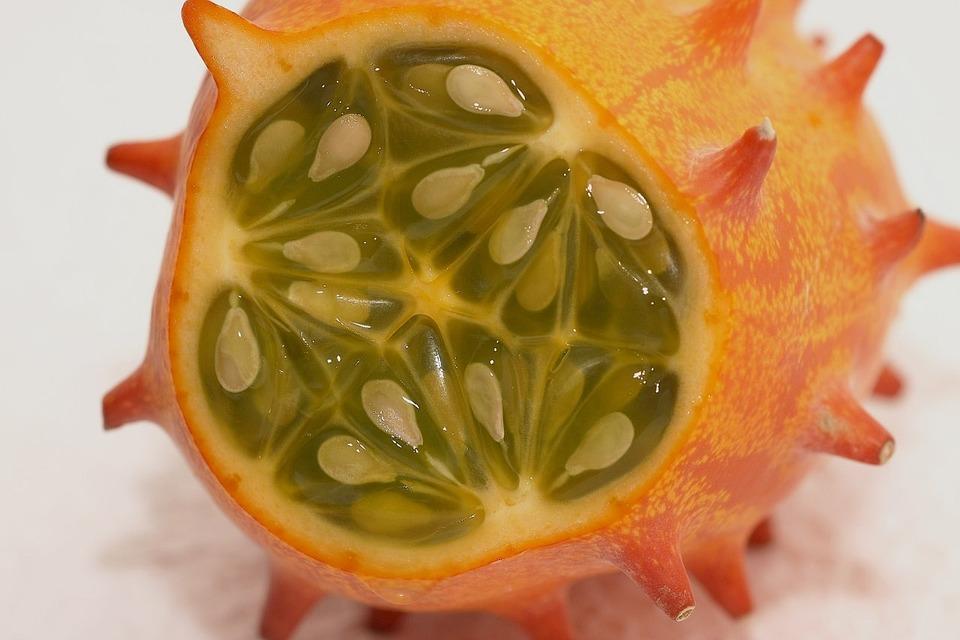 Horn Cucumber, Fruit, Horn Melon, Kiwano