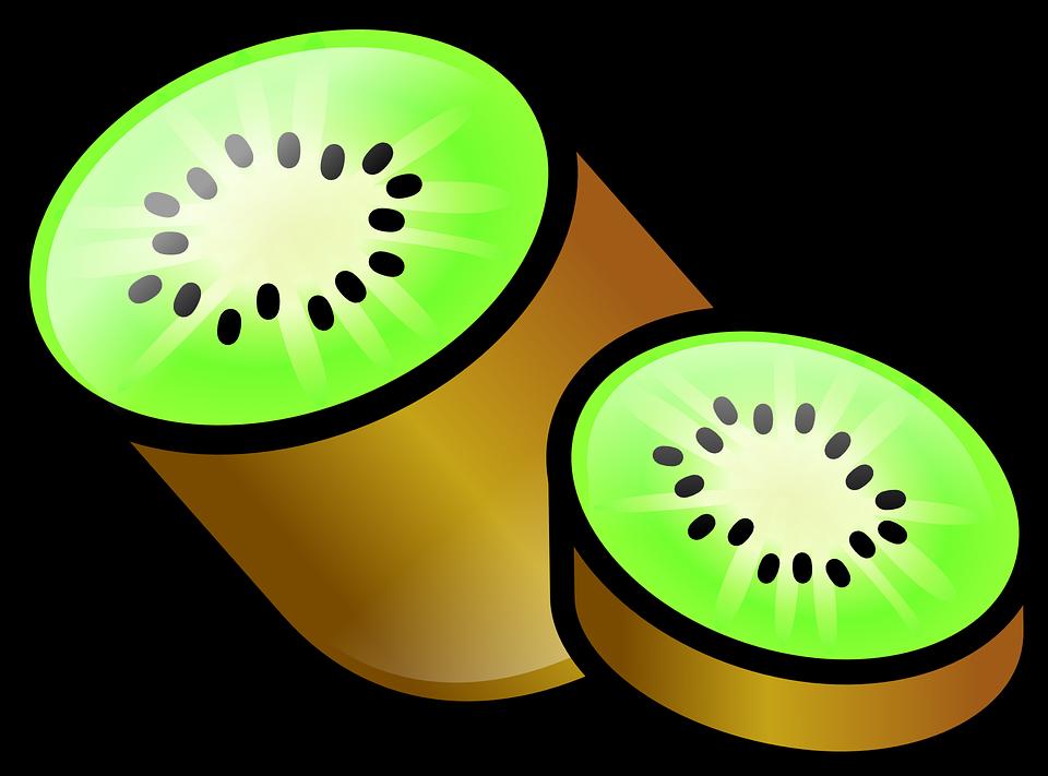 Kiwi, Fruit, Brown, Green, Kiwifruit, Food