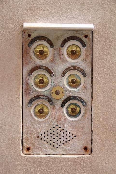 Bell, House Entrance, Doorbell, Shiny, Klingelingeling