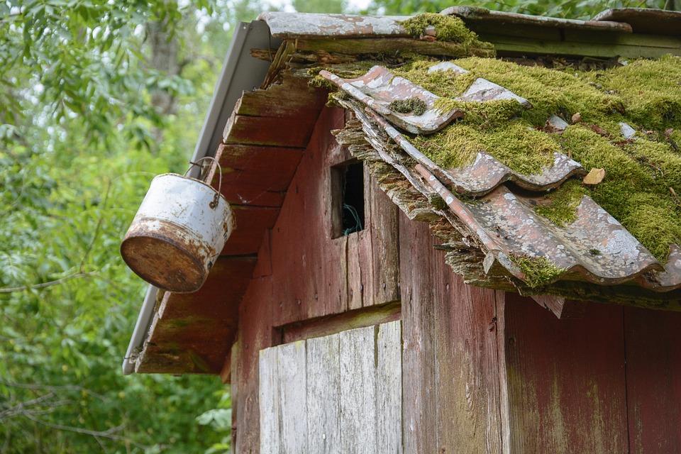 Klohaeuschen, Old, Structure, Plumpsklosett, Wood