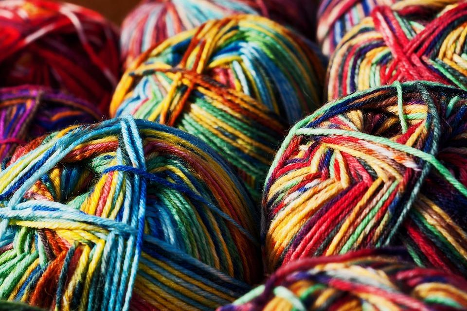 Wool, Knauel, Bale, Pattern, Handmade, Texture, Craft
