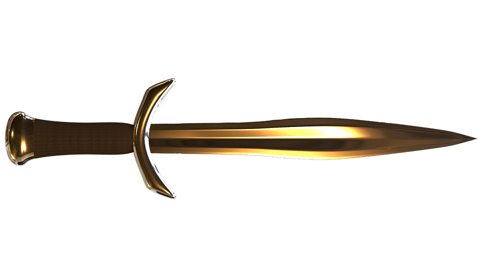 Sword, Weapon, 3d Model, Metal, Steel, Knife, Fantasy