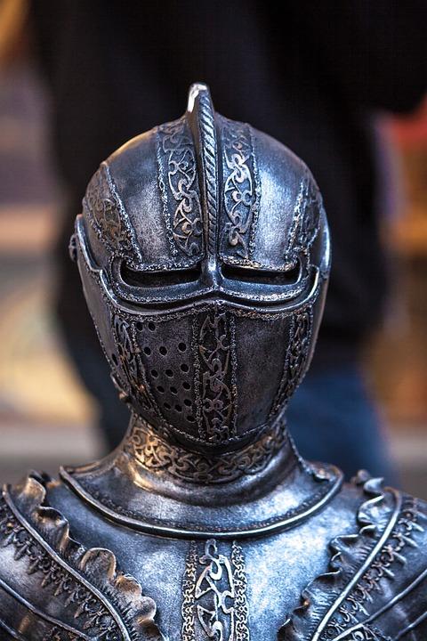 Knight, Armor, Iron, Chevalier, Metal, Protection