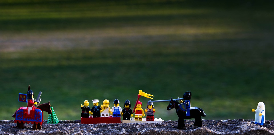 Lego, Knights Tournament, Knight, Competition