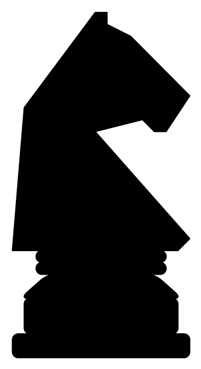 Chess, Piece, Horse, Recreation, Knight, Silhouette