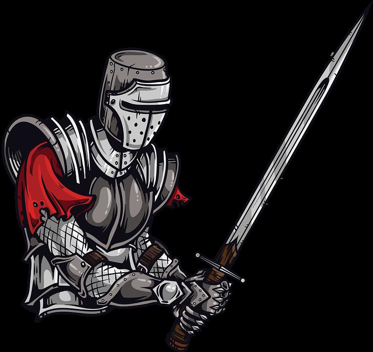 Fantasy, Knight, Sword