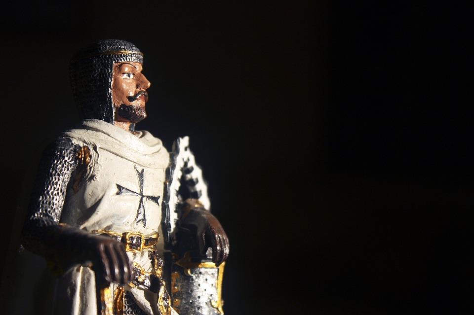 Knight, Crusader, Warrior, The Figurine