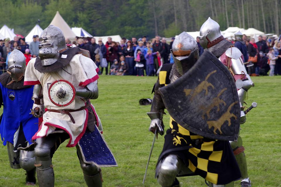 Knight, Knighthood, Armor, The Middle Ages, Battle Of