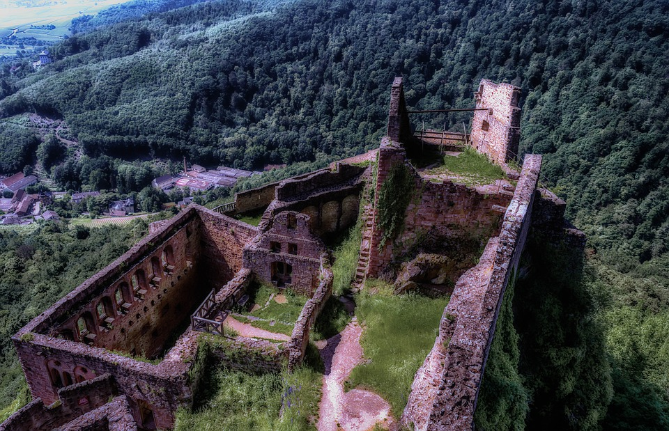 Castle, Ruin, Middle Ages, Knight's Castle, Fortress