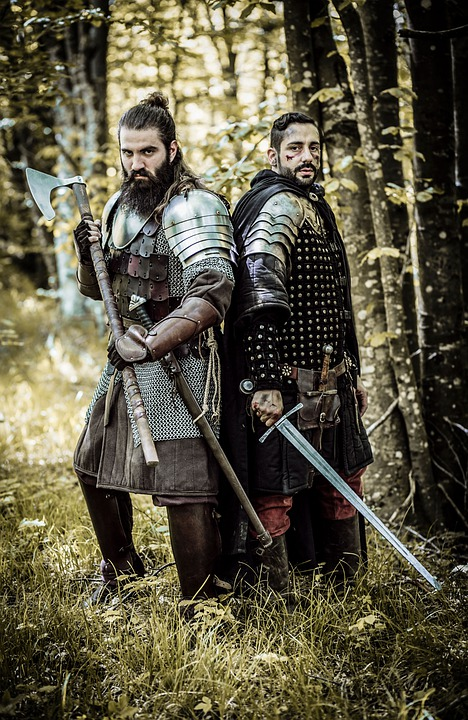 Medieval, Knights, Warriors, Sword, Armor, Soldier