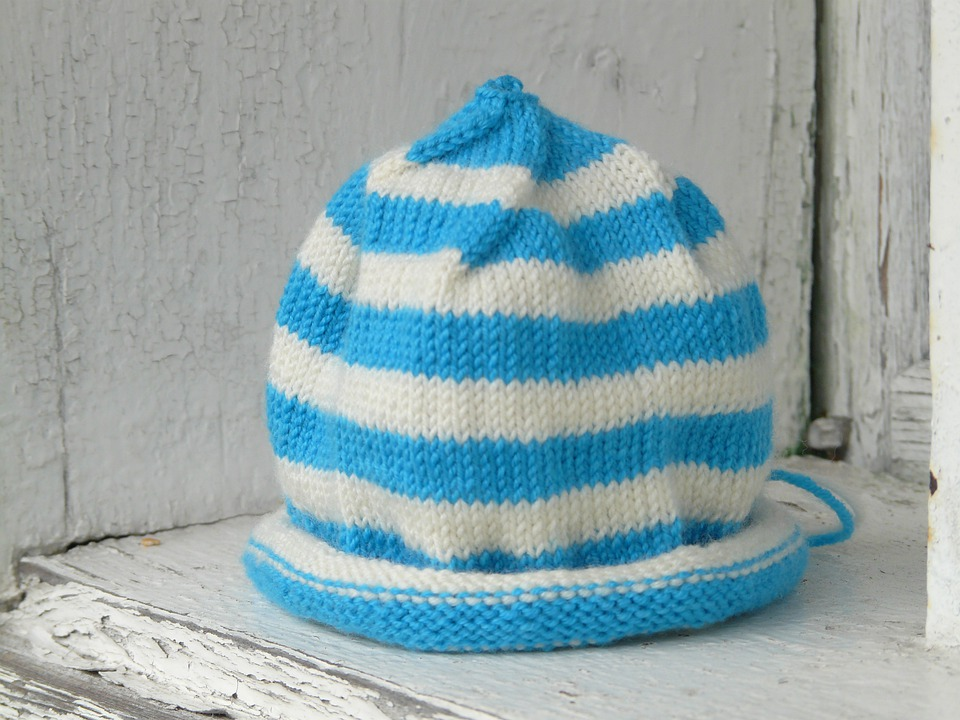 Cap, Caps For, Baby Knot Hat, Children Cap, Knit
