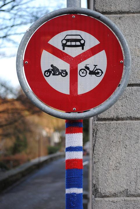 Knitted, Knit, Wool, Traffic Signal, Driving Ban