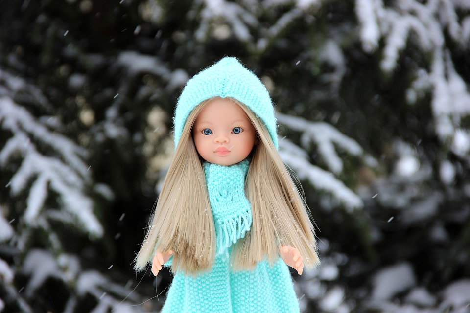 Baby Doll, Paola Reina, Winter, Doll, Knitting