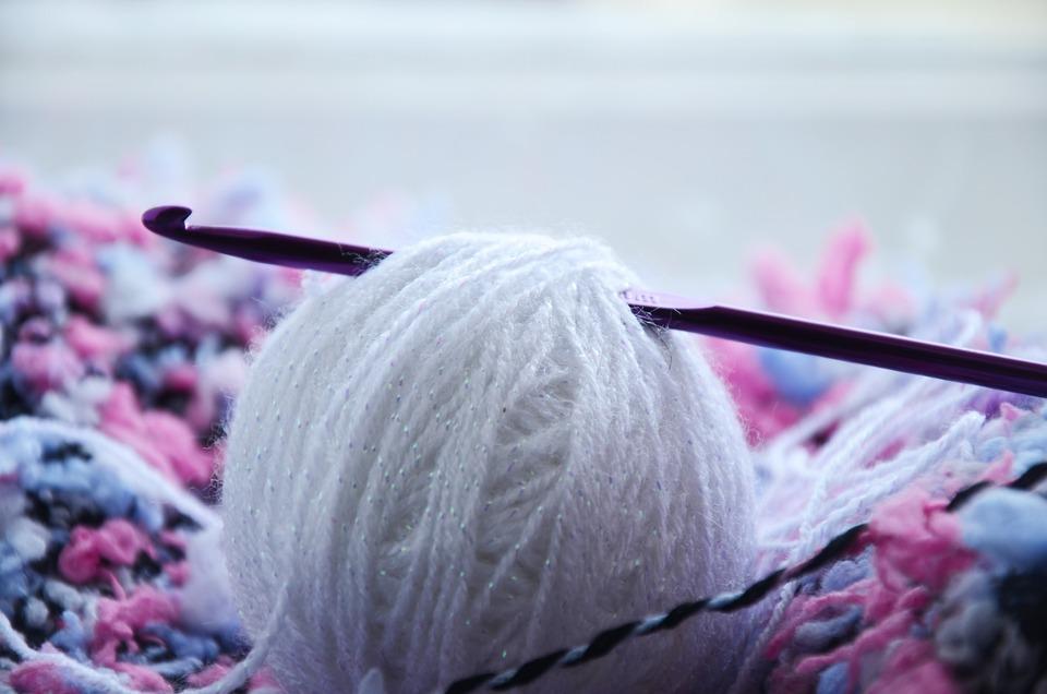 Knitting, Tangle, Hobby, Thread, Hook, Leisure, Weaving