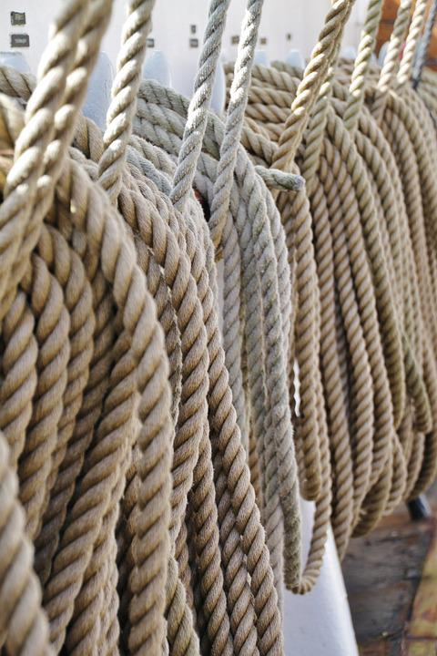 Ropes, Cordage, Twisted Ropes, Strand, Knitting, Thaw