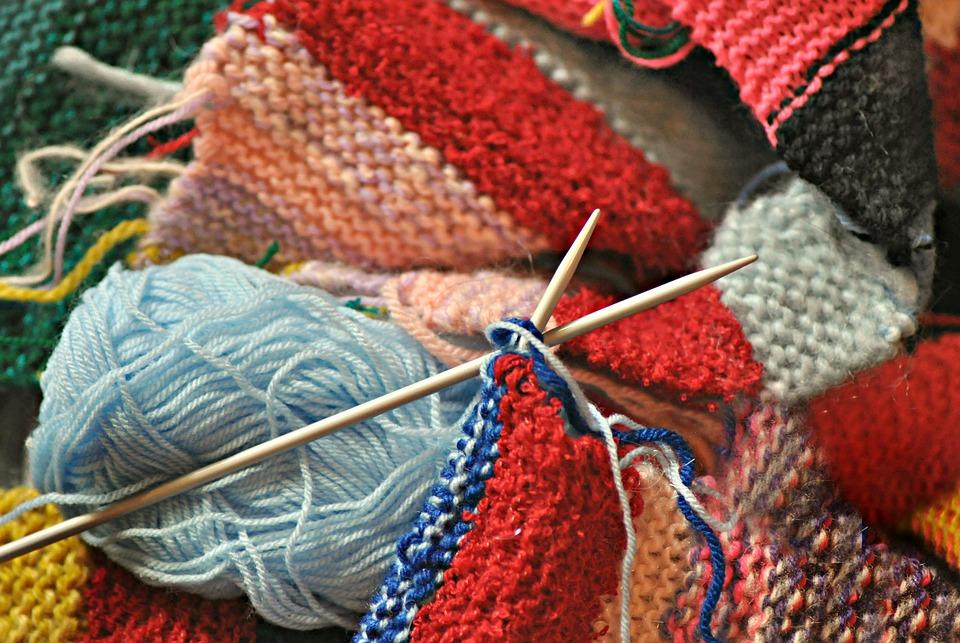 Knitting, Knitting Needle, Knit, Knitwear, Wool, Yarn