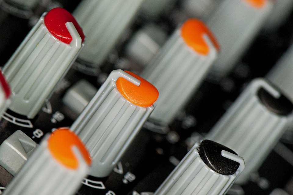 Knobs, Mixer, Sound, Audio, Equipment, Technology