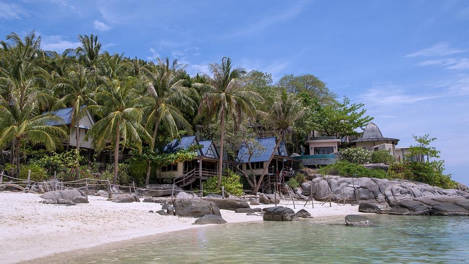 Ko Nang Yuan, Thailand, Beach, Sea, Water, Holiday