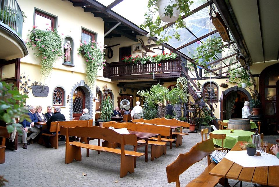 Restaurant, Gastronomy, Koblenz, Antoniushof, Wine Bar