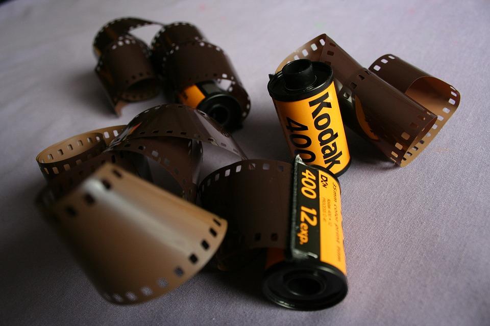 Film, Kodak, Photography, Old, Negative, Retro, Roll