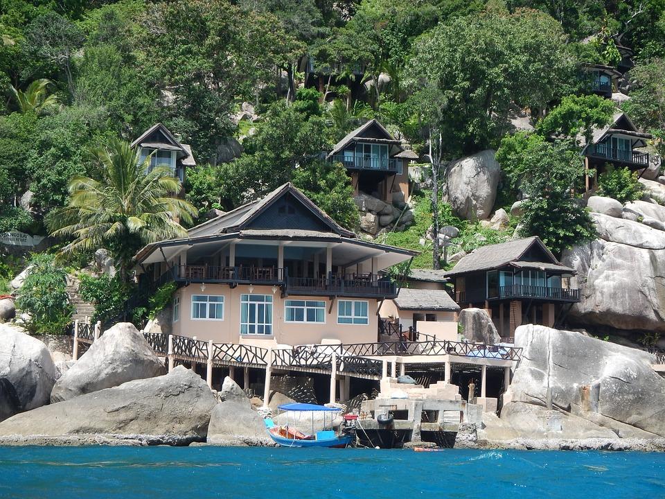 Thailand, Kohsamui, Sea