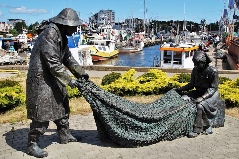 Kolobřeh, The Baltic Sea, Fishing, Port, Fisherman
